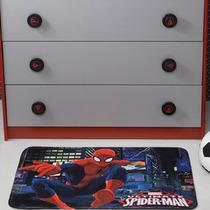 Tapete Infantil Transfer Spider Man City 50x75 Cm - Jolite