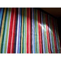 Tapetes De Listra Sala 1,50 X 2,00 Colorido