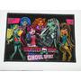 Tapete Monster High (70 X 45cm) - Pronta Entrega!
