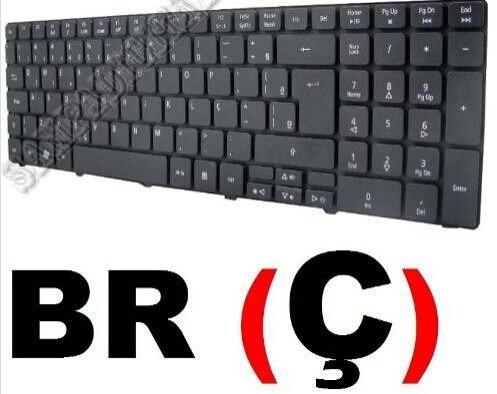 Teclado Acer 5536 5538 5736 5750 7750 Nsk-alc1d Nsk-alc1b