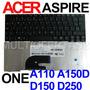 Teclado Acer Aspire One A110 A150 D150 D250 Nsk-aje1b Novo