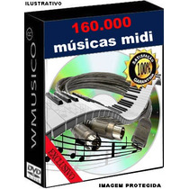 160.000 Músicas Midi Para Teclado Yamaha Roland Korg Casio