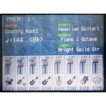 Display Lcd Visor Teclado Technics Kn-5000 Garantia De 1 Ano