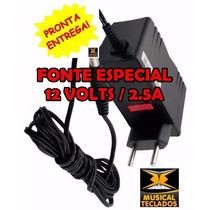 Fonte De Alimentação P/ Teclado Yamaha Psr B20,b50,psr100...