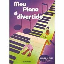 Método Livro P/piano Meu Piano É Divertido Vol. 2