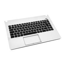 Teclado Asus X401u + Moldura Branco - Abnt - Br - Com