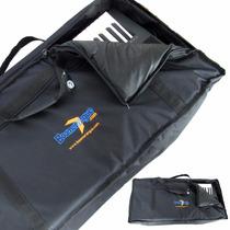 Capa Bag Para Teclado 5/8 Acolchoada Casio Roland Yamaha
