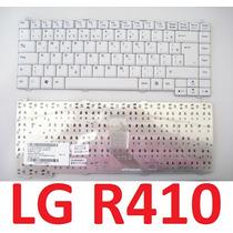 Teclado Lg R410 R480 Branco Original Novo - Br Abnt2 Ç Ç
