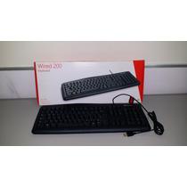 Teclado Microsoft Com Fio Desktop 200 - M7j-00001