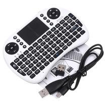 Mini Teclado Sem Fio2.4g +touchpad P Pc,pad, Andriodtv Box