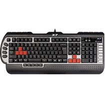 Teclado Gamer A4tech G800v Gaming Usb Abnt2 X7 Keyboard