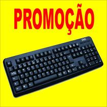 Teclado Computador / Notebook Usb Básico Preto Padrão Brasil