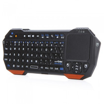 Mini Teclado Bluetooth 3.0 Touchpad Tablet Pc Smart Tv E +