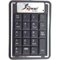 Mini Teclado Numérico Notebook Pc Usb Numpad Slim Retrátil