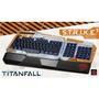 Teclado Titanfall Strike3 Mad Catz Pc Teclado Iluminado