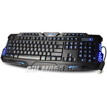 Teclado Iluminado Multimídia Action Gamer /anti-ghosting