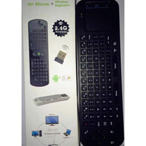 Mini Teclado Sem Fio Wireless 2.4ghz Com Touchpad