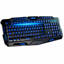Teclado Iluminado Multimídia Led Gamer Ghosting Luminoso A2