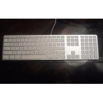 Apple Wired Keyboard - Teclado Com Fio Com Defeito