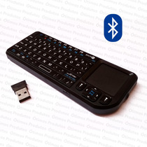 Mini Teclado Bluetooth Touchpad * Smart Tv Pc Tablet Celular