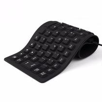 Teclado Flexível Silicone Dobrável Mini Para Laptop Notebook