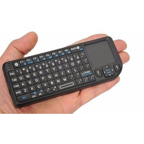Mini Teclado Sem Fio Com Touchpad + Led (smart Tv Pc)