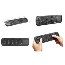 Mini Teclado Mouse Bluetooth Wifi P Cel Smart Pc Tv Ps Table