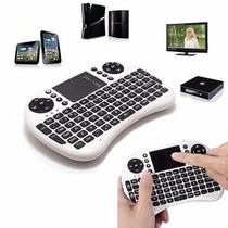 Mini Teclado Wireless Bluetooth Touchpad Tv Box Xbox 360 Ps3