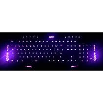 Teclado Ghost Gamer Iluminado 3 Leds Neon + Super Brinde