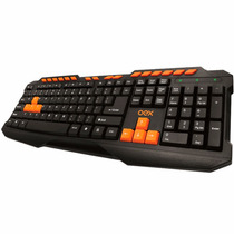Teclado Multimídia Action Gamer Usb Plug And Play Tc200 Oex