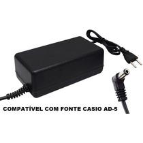 Fonte Automática Para Teclado Casio Ctk 501 / Ctk 511
