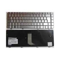 Teclado Original Hp Dv4-1000 Prata Com Ç - P/n 508120-201