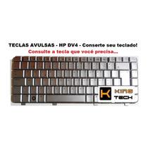 Teclas Avulsas Para Notebook Dv4 Prata - Preço Unitário