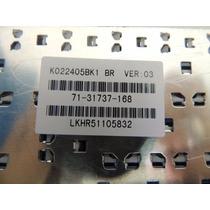 Teclado Para Notebook Itautec W7645 Pn: K022405bk1 -cod 833
