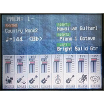 Novo Display Visor Teclado Technics Kn5000 Garantia 01 Ano
