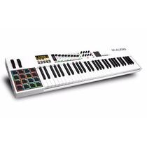 Teclado Musical Controlador Midi M-audio Code 61 + Ableton