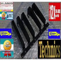 Tecla Para Teclado Technics Kn720 Kn920 Kn1400 5 Pretas