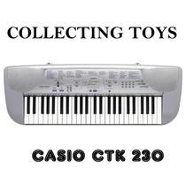 Casio Teclado Ctk-230 Novo 220v
