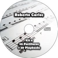 Cd Partituras Roberto Carlos + Playback (midi) Frete Grátis!