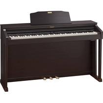 Piano Roland Hp504 Rw Na Cheiro De Música Loja Autorizada !!