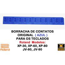 Borracha Azul Nova Original P/ Teclado Roland Xp-80 Promoção