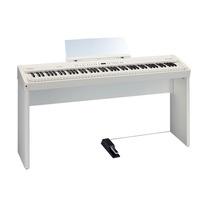 Piano Roland Fp50 Branco - Loja Bolero Music - Nf E Garantia