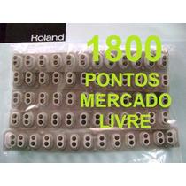 Kit 5 Borrachas Novas Roland Xp-10/fantom 61/rs-5/rs70 Etc..