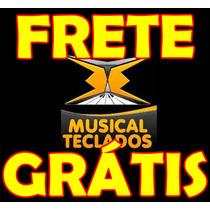 Borracha Nova P/ Teclado Korg X5 Frete Grátis - Promoção