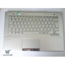 Teclado Sony Vaio Vpc-sd/sb C/ Carcaça Prata Br 9z.n6bbf.11b