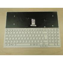 Teclado Sony Vaio Vpc-eb Series Branco Com Frame Abtn2 Ç
