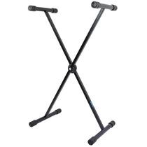 Pedestal Suporte Para Teclado Estante Em X Suporta Até 30kg