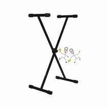 Suporte Pedestal Estante Para Teclado De Até 30kg Ask X10s