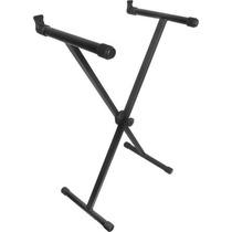 Pedestal Suporte Estante Para Teclado Em X Suporta Até 30kg