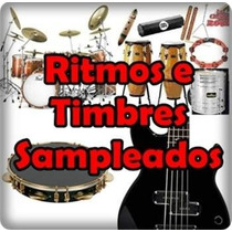 Kit Samples Interno Psr S650, S750, S950 Com Instrumentos